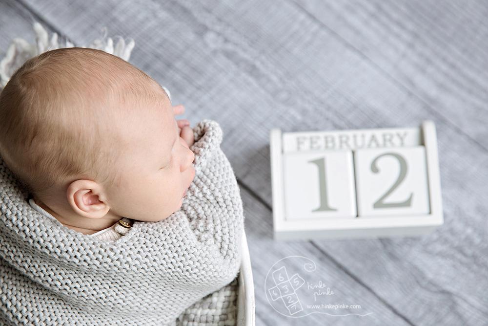 Hinkepinke Neugeborenenfotografie mobiles Studio
